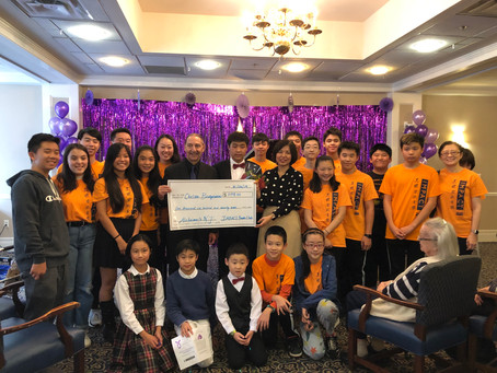 IYC Successfully Run an Alzheimer's Fundraising Concert