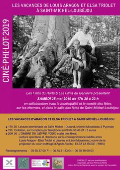 Les vacances de Louis Aragon et Elsa Triolet à Saint-Michel-Loubéjou