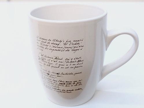 Mug Manuscrit Elsa Triolet