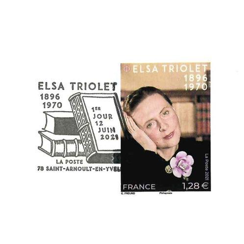 Document Philatélique Elsa Triolet