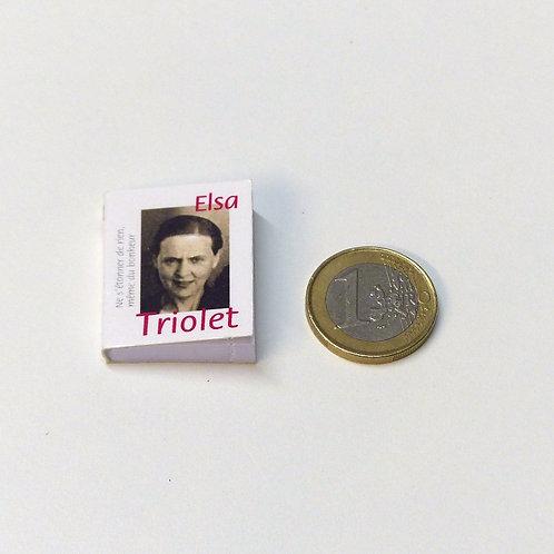 Mini livre Elsa Triolet