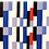Thumbnail: Echarpe de soie Rectangles - Sonia Delaunay