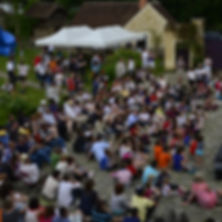 Concert cour pavée