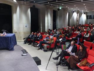 Conférence de Daniel Bougnoux : « Aurélien entre présence et représentations »