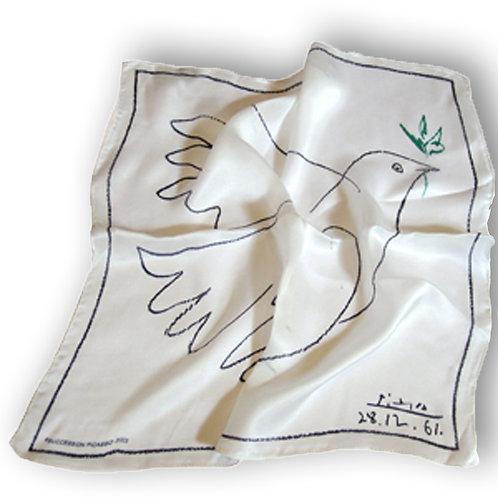 Carré de soie Colombe - Picasso