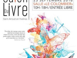 Le salon du livre de Saint-Arnoult-en-Yvelines le 23 septembre
