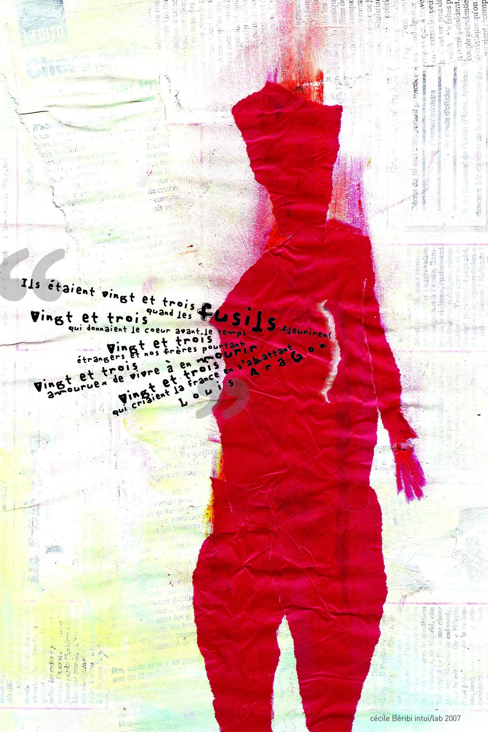 Mon affiche rouge
