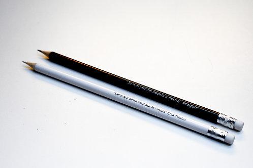 Crayon de papier citation