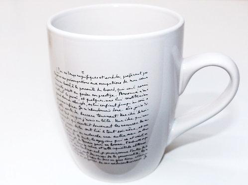Mug Manuscrit Louis Aragon