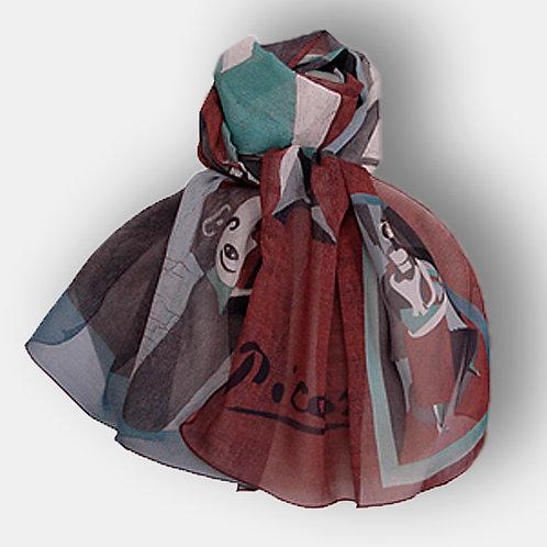 Echarpe de soie Picasso - Blanquita Suarez