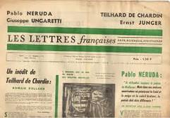 Journée d'étude ERITA-ITEM sur les Lettres françaises samedi 15 juin