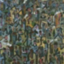 Détail tableau, Antonio Segui