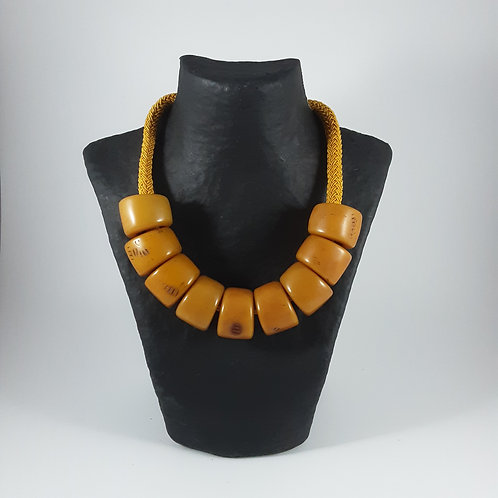 Collier Galalithe