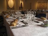 Dîner gastronomique grande salle
