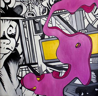 Pop art Benjamin Spark