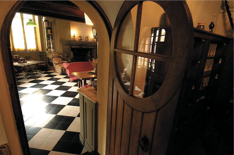 Porte salon - crédits Jean-François La