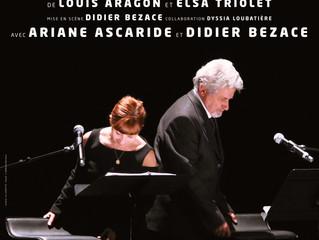 Il y aura la jeunesse d'aimer : Didier Bezace et Ariane Ascaride rendent hommage à Aragon et Els