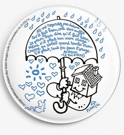 Badge de soutien à la Maison
