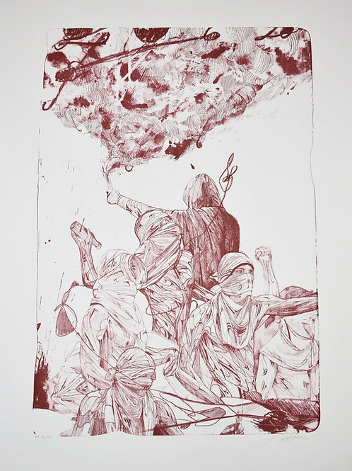 Comportement ultra - Lithographie HOPARE