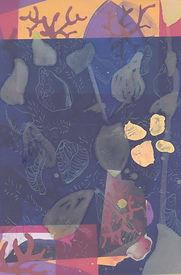 Drypoint etching on inkjet print, 2017 (28 × 21 cm)