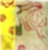 Drypoint etching on inkjet print, 2017 (15 × 15 cm)