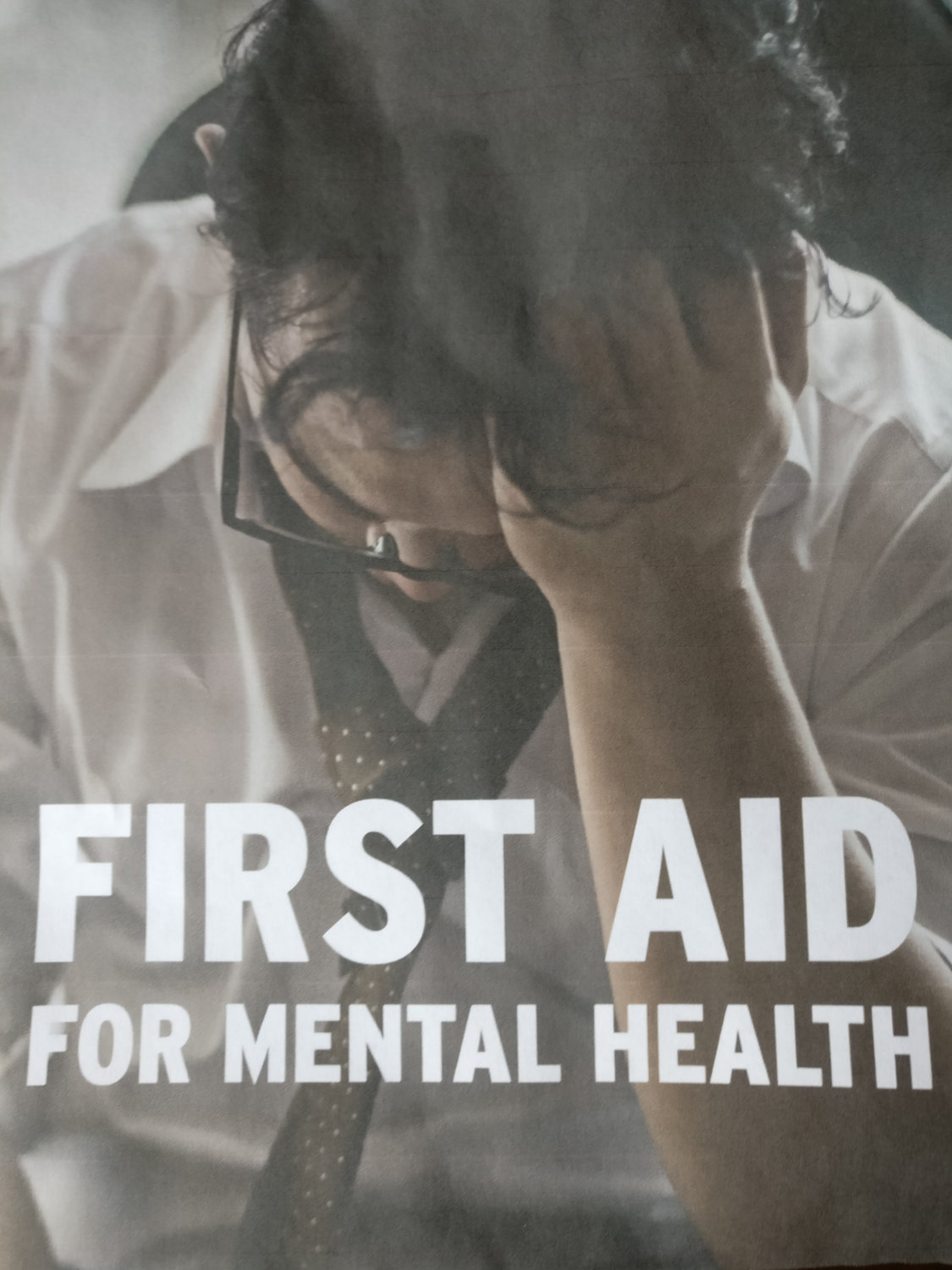 First aid for mental health levels 1