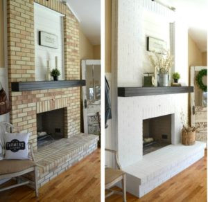 Relooking de cheminée