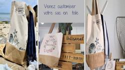 Atelier créatif customiser votre sac en toile