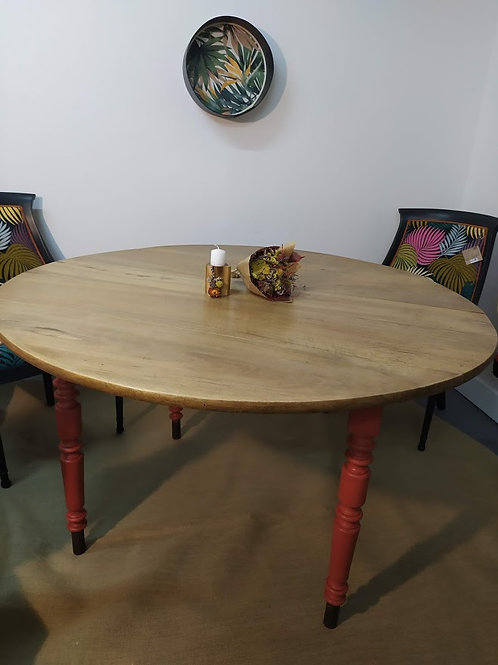 Table ronde campagnarde