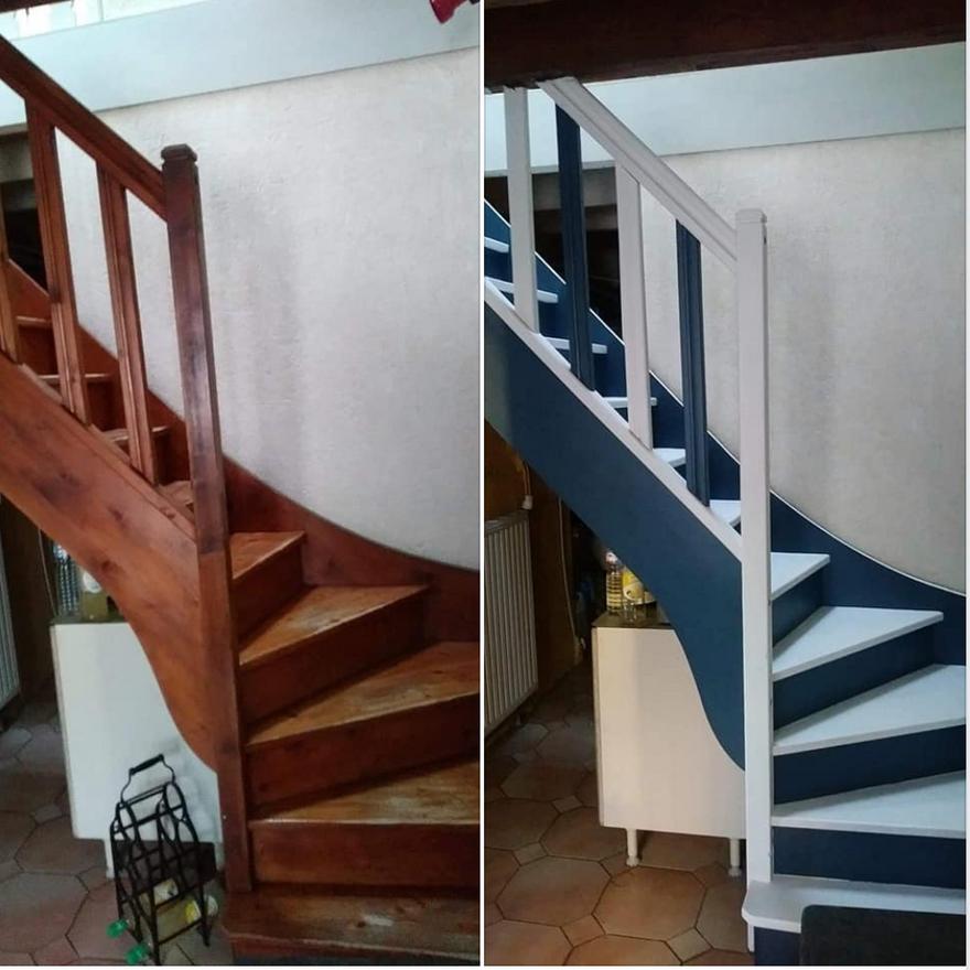 Relooking d'escalier