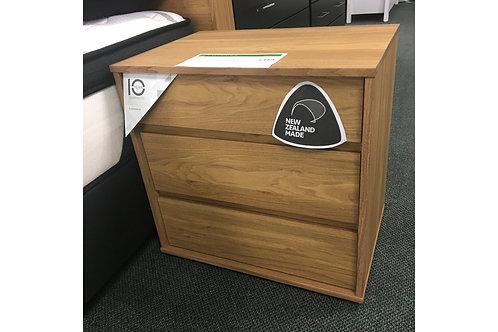 Moda 3 Drawer Bedside Cabinet