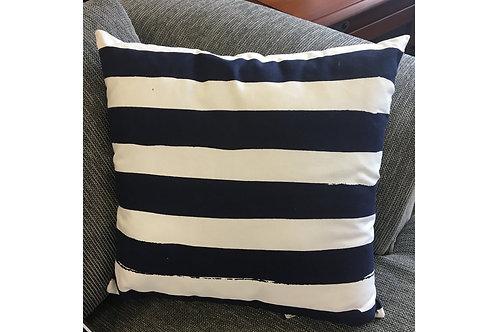 Kolsan Stripe Navy Cushion