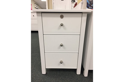 Apple 3 Drawer Bedside
