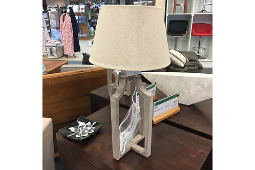 Table Lamp with Shade Natural