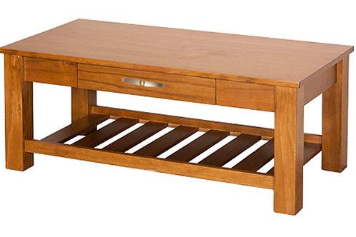 Charlton Coffee Table w/ Rack & Draw