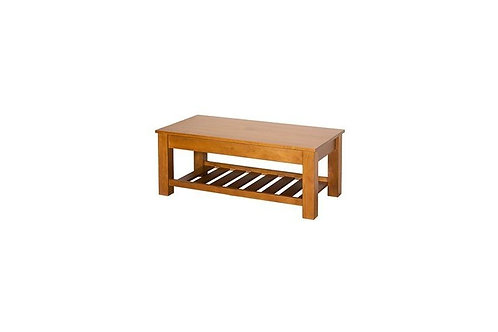 Charlton Coffee Table with Rack