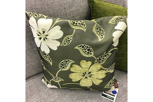 Floral Green Cushion