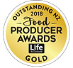 Outstanding NZ Food Producer Awards Gold Medal 2018