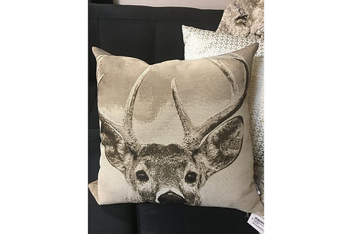 Buck on the Lookout Cushion