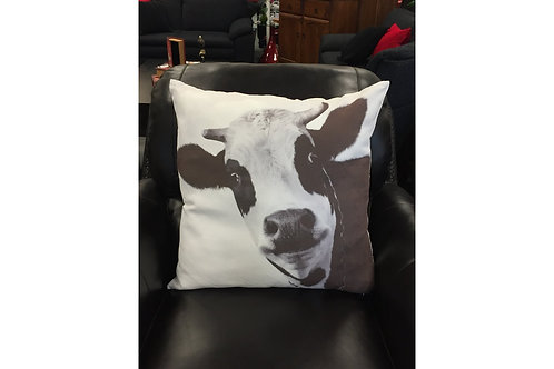 Cow Suede Look Cushion