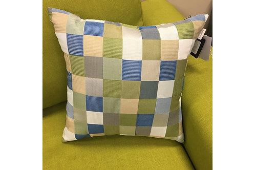 Jacquard Checkers Cushion