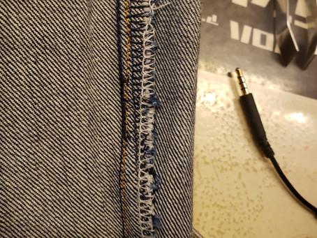 裾幅を詰める