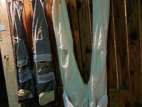 修理直前お洗濯の必要性