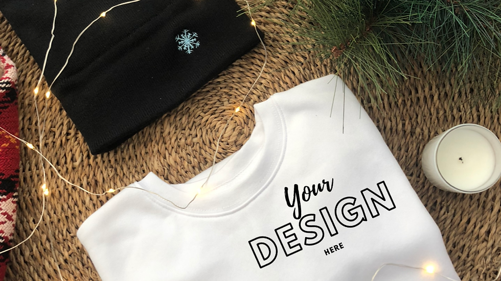 Custom Crew Neck Sweatshirt
