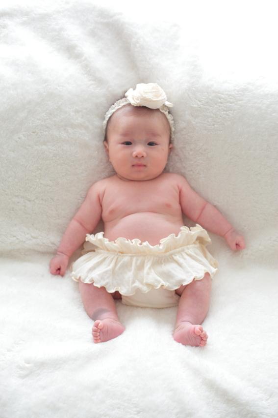 赤ちゃん自宅撮影 ニューボーンフォト カメラマンの撮影
