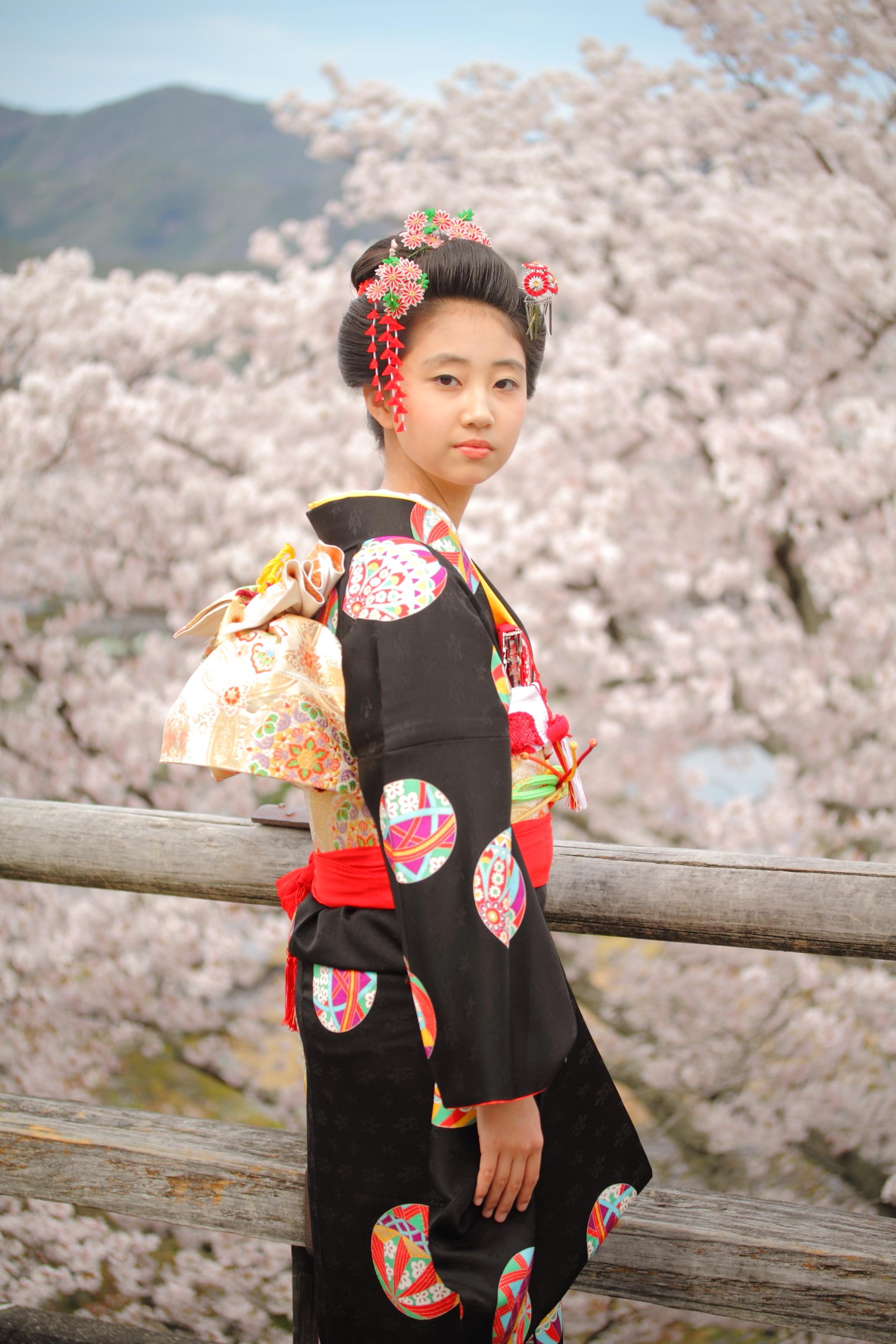 十三参り 京都写真撮影 京都出張撮影 同行撮影