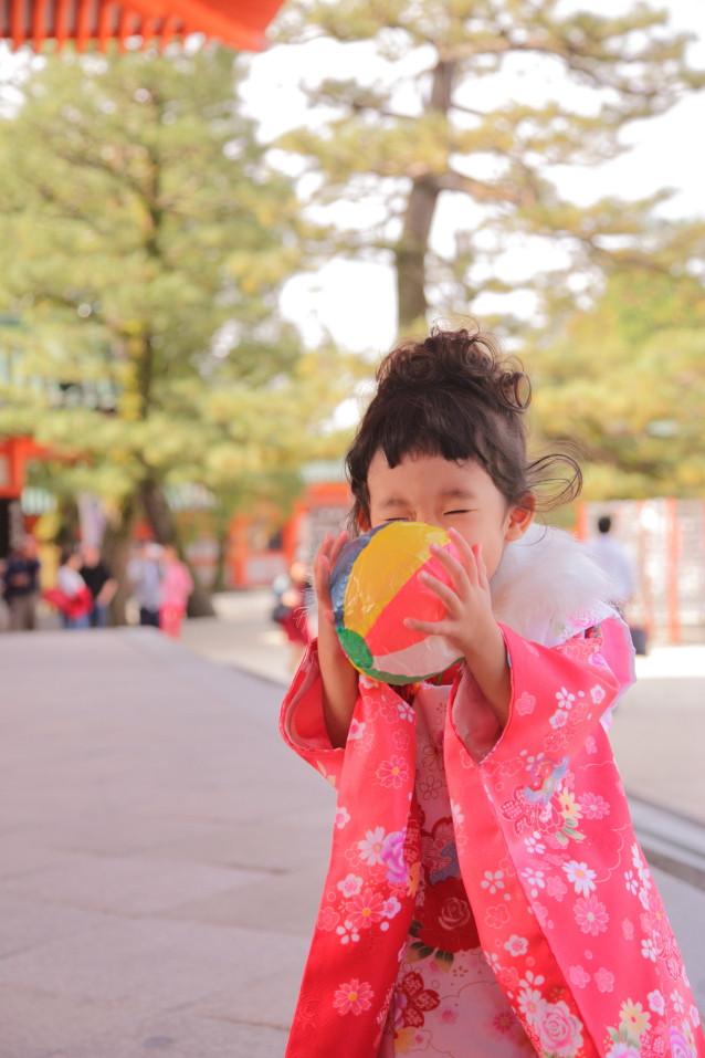 七五三出張撮影 京都出張撮影 出張撮影あおぞら カメラマンえびす撮影