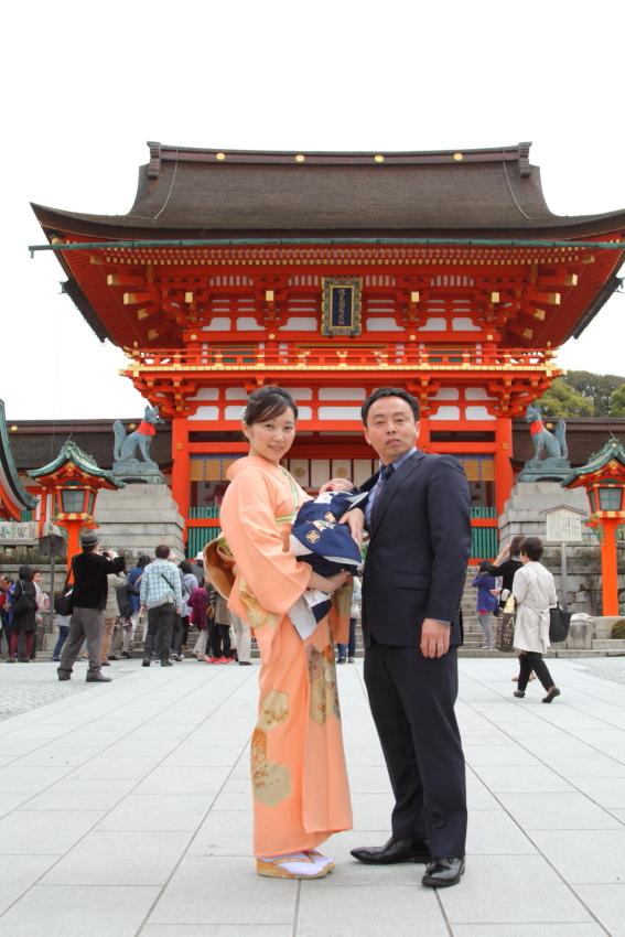 京都撮影 出張写真撮影 神社撮影 記念写真 親子撮影