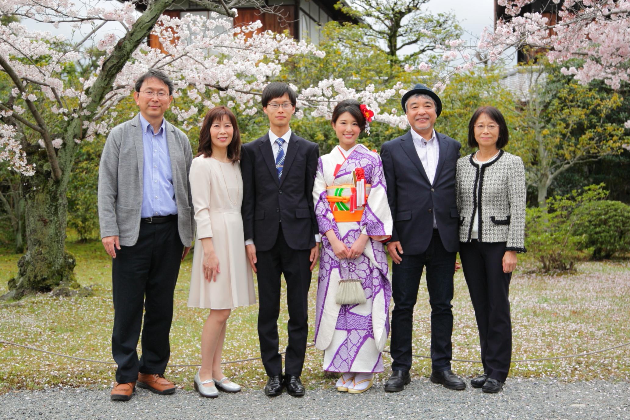 家族写真出張撮影 記念出張撮影 撮影出張サービス京都 出張撮影あおぞら
