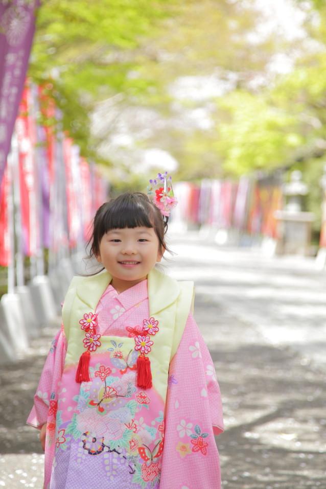 七五三女児 七五三詣り出張撮影 滋賀県カメラマン撮影